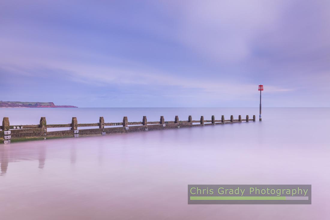 Winter Devon beach